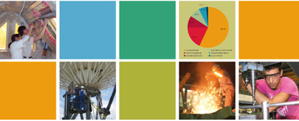 Collage: Datenreport 2012